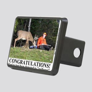 CONGRATULATIONS2 Rectangular Hitch Cover