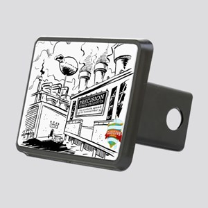 ch5 fart factory Rectangular Hitch Cover