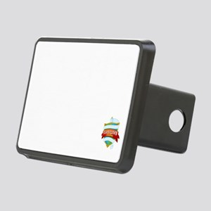 **ch 5 fart factory v2 whi Rectangular Hitch Cover