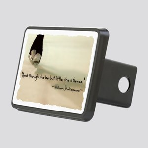 And though she be but litt Rectangular Hitch Cover