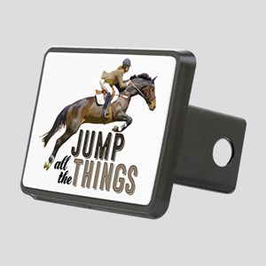 Jump all the Things Rectangular Hitch Cover