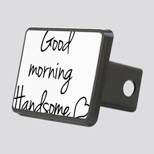 Good morning Handsome Rectangular Hitch Cover