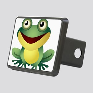 Green Cartoon Frog-4 Hitch Cover