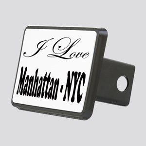 ladies_i_love_manhattan_ny Rectangular Hitch Cover