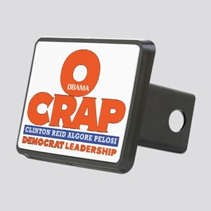 O-Crap Political T-Shirt Rectangular Hitch Cover