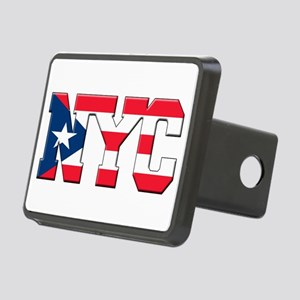 New York Puerto Rican Rectangular Hitch Cover