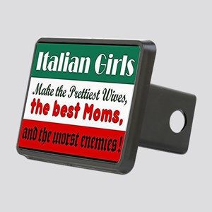 Italian Girls Rectangular Hitch Cover