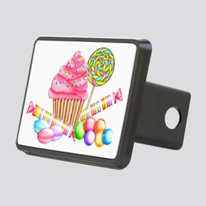Wonderland Sweets Rectangular Hitch Cover