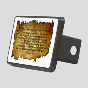 charmed invoking spell Rectangular Hitch Cover