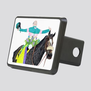Mike Smith and Zenyatta Rectangular Hitch Cover