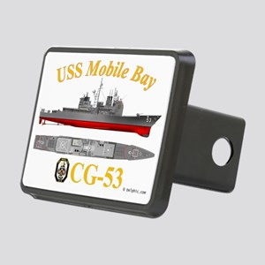 CG-53 USS Mobile Bay Rectangular Hitch Cover