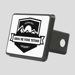 Show Me Your Tetons  Rectangular Hitch Cover