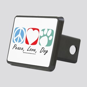 Peace-Love-Dog-2009 Hitch Cover