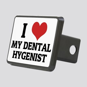MY DENTAL HYGENIST Rectangular Hitch Cover