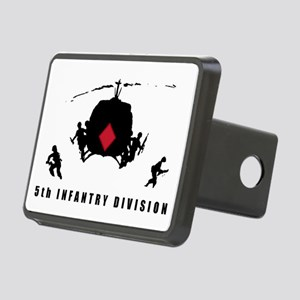 5th INFANTRY DIVISION Rectangular Hitch Cover