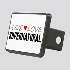 Live Love Supernatural Rectangular Hitch Cover