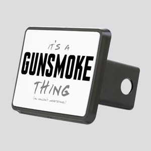 It's a Gunsmoke Thing Rectangular Hitch Cover