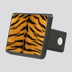 Tiger Fur Rectangular Hitch Cover