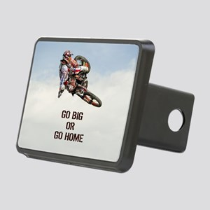 Motocross Rider Rectangular Hitch Cover