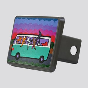 GoGreyhound Rectangular Hitch Cover