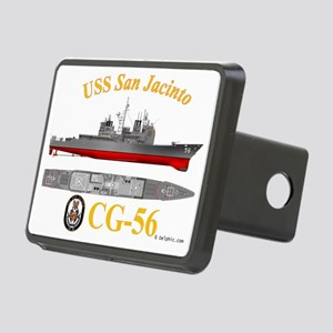 CG-56 USS San Jacinto Rectangular Hitch Cover