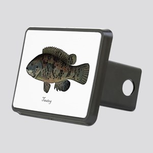 Tautog Black Fish Rectangular Hitch Coverle)