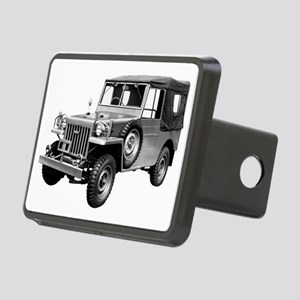 BJ trans Rectangular Hitch Cover
