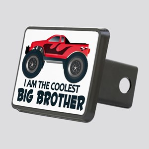 Coolest Big Brother - Truc Rectangular Hitch Cover