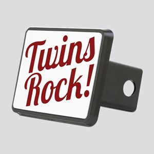 TwinsRockred Rectangular Hitch Cover