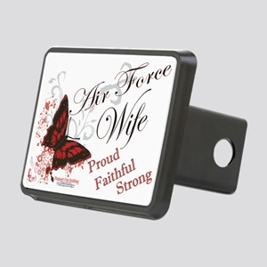 Air Force Wife Rectangular Hitch Coverle)