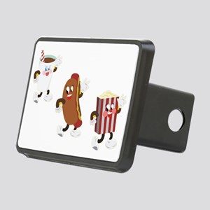 soda hotdog popcorn Rectangular Hitch Cover
