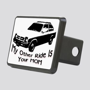 ride Rectangular Hitch Cover
