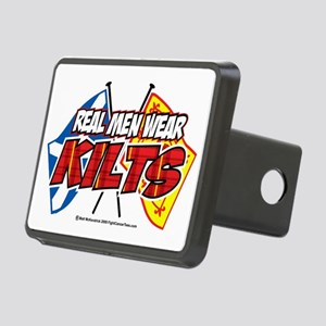 Real-Men-Wear-Kilts-2 Rectangular Hitch Cover