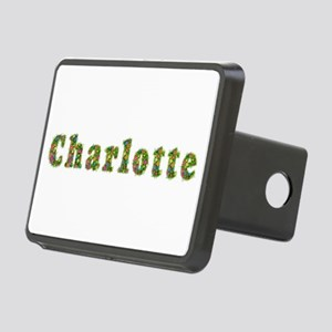 Charlotte Floral Rectangular Hitch Cover
