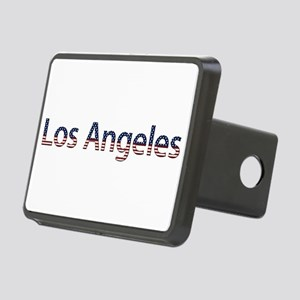 Los Angeles Stars and Stripes Rectangular Hitch Co