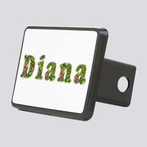 Diana Floral Rectangular Hitch Cover
