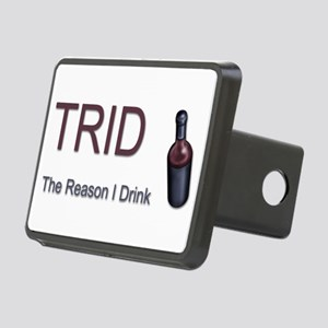 TRID Bottle Rectangular Hitch Cover