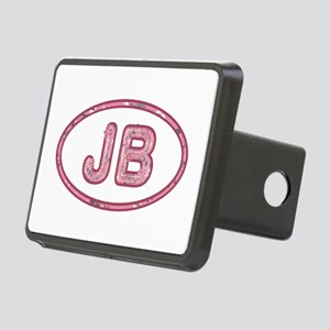 JB Pink Rectangular Hitch Cover
