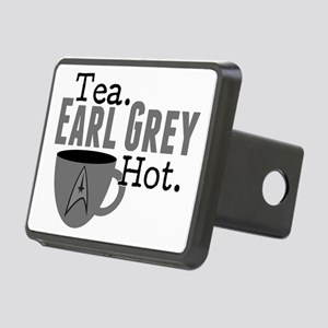 Tea Earl Grey Hot Rectangular Hitch Cover