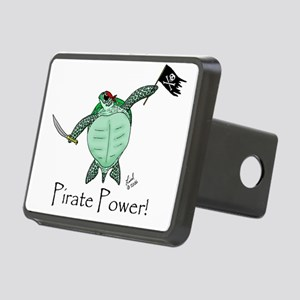pirateturtle Rectangular Hitch Cover