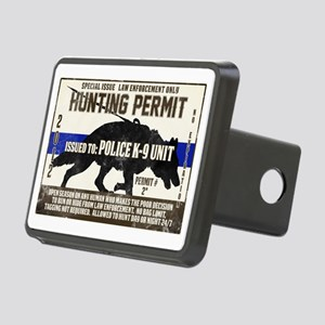 K9 Hunting Permit Rectangular Hitch Cover