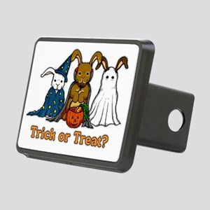 Halloween Rabbits Rectangular Hitch Cover