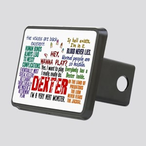 Best Dexter Quotes Rectangular Hitch Cover
