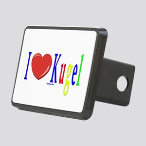 I Love Kugel Funny Jewish Rectangular Hitch Cover