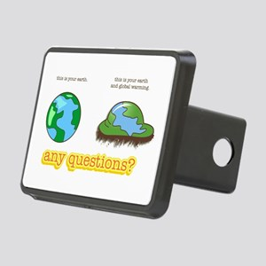 Global Warming Rectangular Hitch Cover
