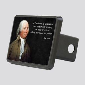 John Adams Constitution Qu Rectangular Hitch Cover