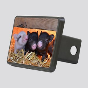 Three Little Piggies Rectangular Hitch Cover