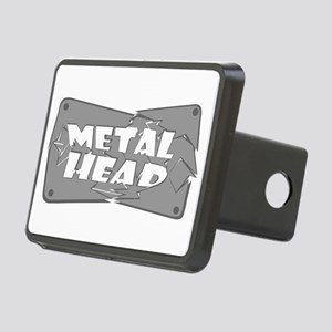 Metal Head Rectangular Hitch Cover