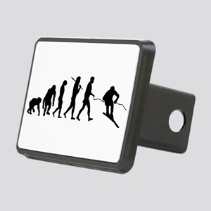 Downhill Skiing Rectangular Hitch Cover