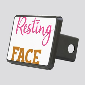 Exercise Resting Gym Face Rectangular Hitch Cover